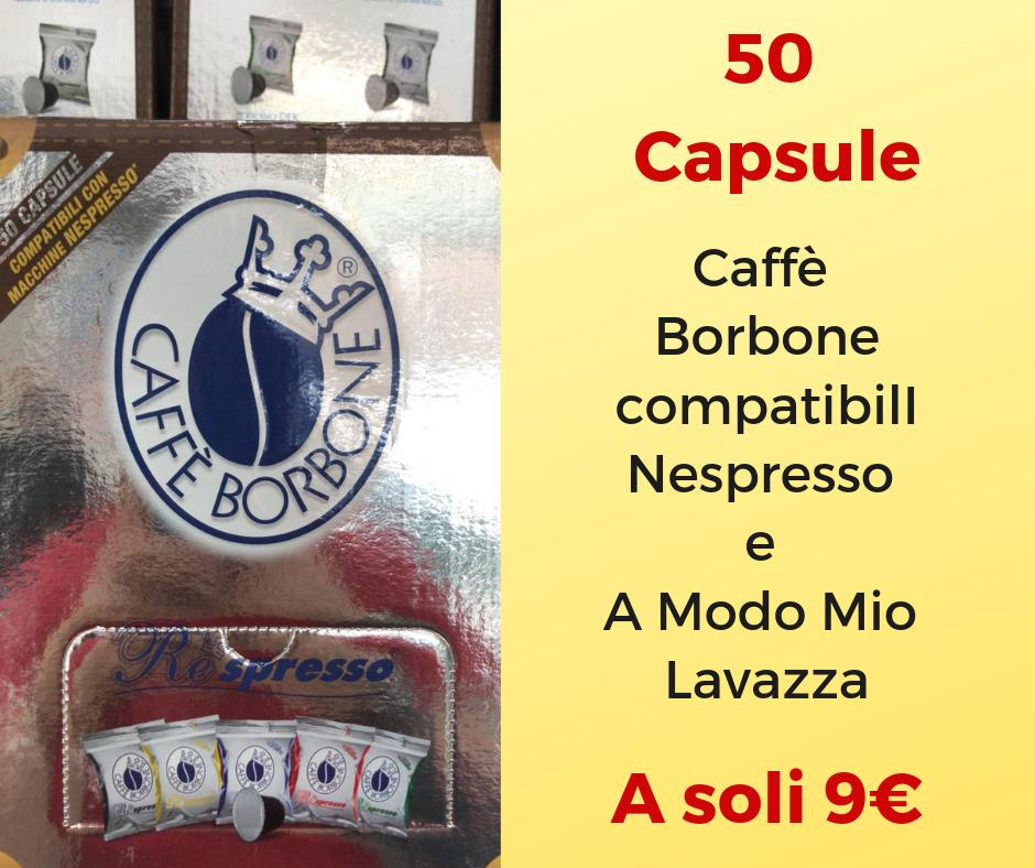 promozione capsule caffe borbone torino
