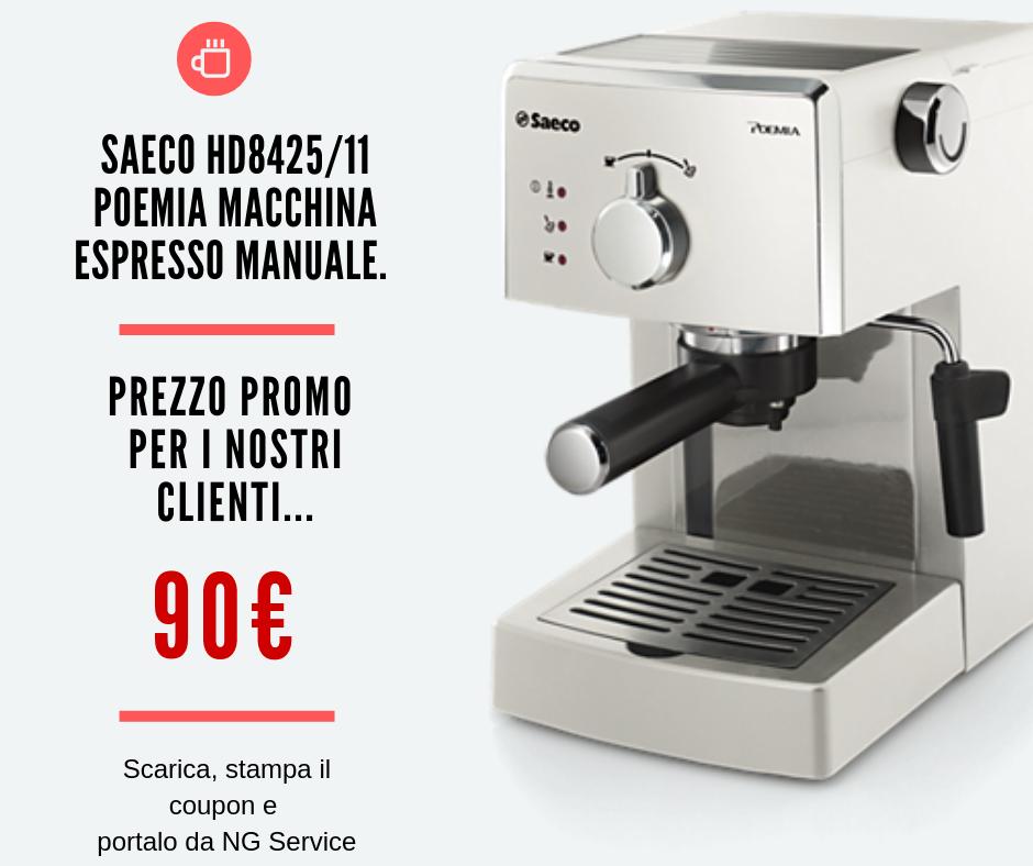 promozione macchina caffè espresso